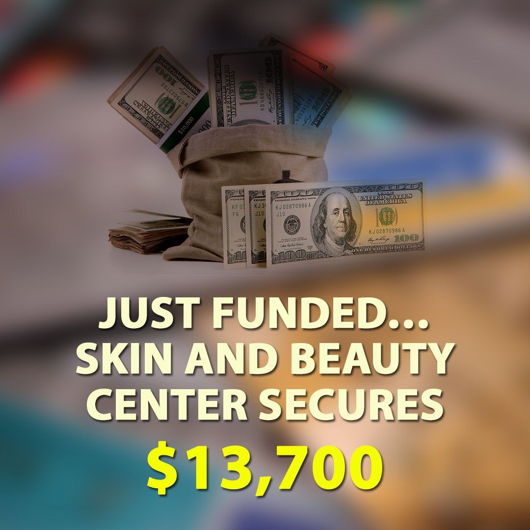 Just-Funded-Skin-and-Beauty-Center-Secures-13700-1080X1080