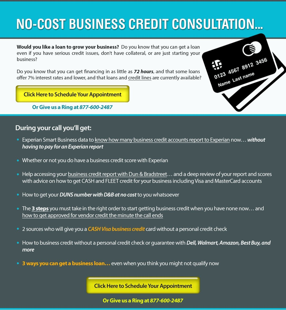 Free Business Credit Consultation | Credit Suite