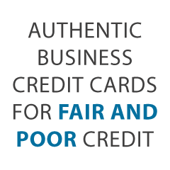 Credit Cards for Business with Fair Credit
